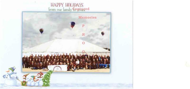 happy holidays family