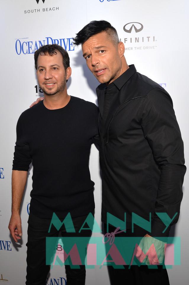 Ricky Martin, Jared Shapiro