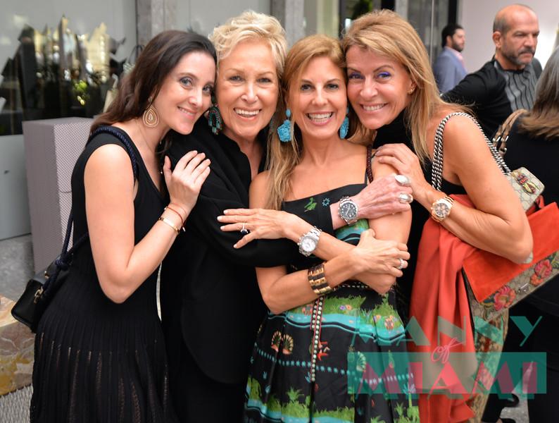 Susanne Birbragher, Iran Issa Khan, Lisa Heiden, Hello Campos