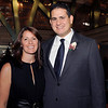 2009 Don Bosco Prep Hall of Fame inductee Enrico Gaglioti (class of 1989) and his wife Danielle of Ridgewood