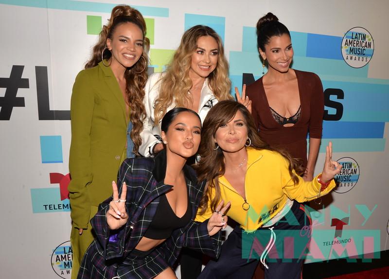 Becky G, Leslie Grace, Aracely Arambula, Glorida Trevi, Roselyn Sanchez