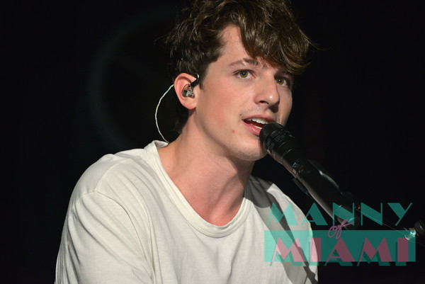 10-4-16 - Charlie Puth at the Fillmore Miami Beach
