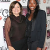 Rutina Wesley and Fran Visco at the Les Girls 10th Annual Cabaret fundraiser for National Breast Cancer Coalition Fund -NBCCF- held at Avalon in Hollywood, California on October 04,2010                                                                               © 2010 Debbie VanStory / Hollywood Press Agency.com