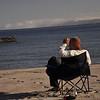 auch der Guide muss sich mal 5 Minuten ausruhen - Playa Punta Aguja - Tag 3