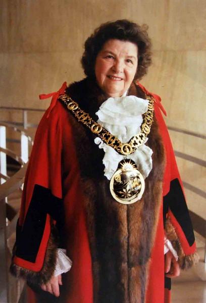 Former Mayor of Haringey Cllr. Mary Neuner