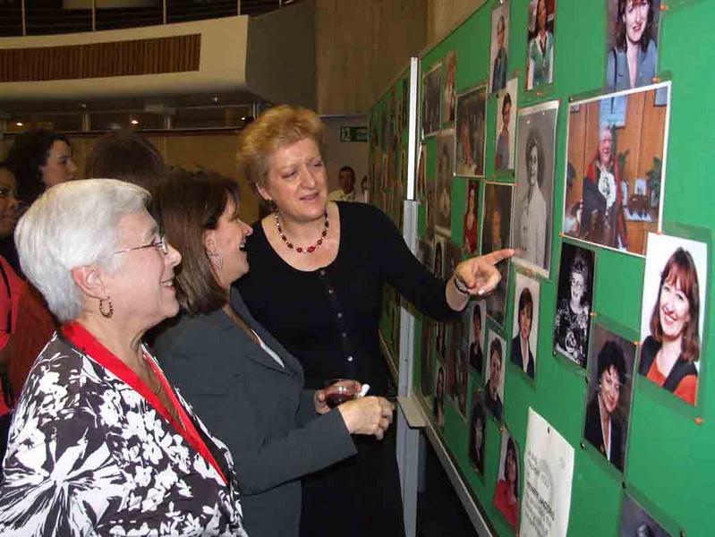 Cllr. Sheila Peacock, Lynne Featherstone MP.  Former Cllr.Sharon Lawrence