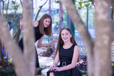 Annie and Sophie sde Miami Beach Temple Beth Shalom Mitzvah (123 of 30)