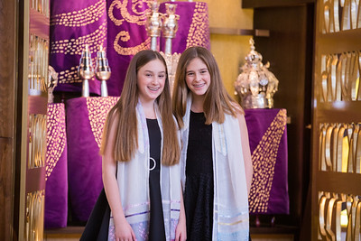 Annie and Sophie sde Miami Beach Temple Beth Shalom Mitzvah (100 of 30)