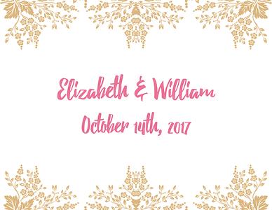 10.14.17 Elizabeth & William