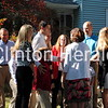 Republican vice-presidential candidate Paul Ryan and his family visited the former home of his wife Janna's grandparents, Adelaide and Dr. Vernon Petersen, which is now owned by Todd and Sarah Gravert. • Katie Dahlstrom/Clinton Herald