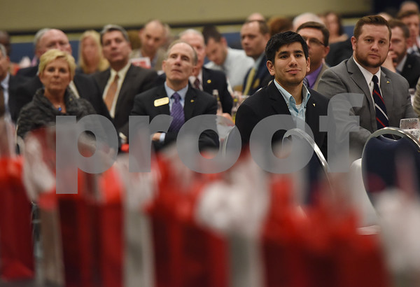 Hundreds attend the Tyler Area Chamber of Commerce annual meeting Tuesday night at Harvey Convention Center.   (Sarah A. Miller/Tyler Morning Telegraph)