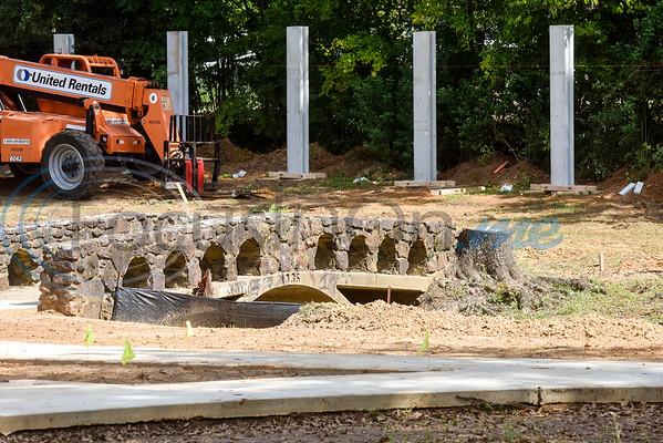Renovations at Hillside Park in Tyler, Texas, on Thursday, Oct. 4, 2018. (Chelsea Purgahn/Tyler Morning Telegraph)