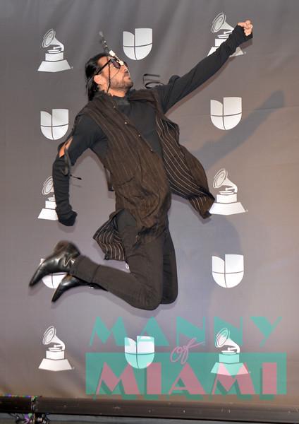 LAS VEGAS, NV - NOVEMBER 14:  Beto Cuevas at the Latin Grammys at the MGM Grand in Las Vegas, Nevada on November 14, 2019. (Photo by Manny Hernandez)