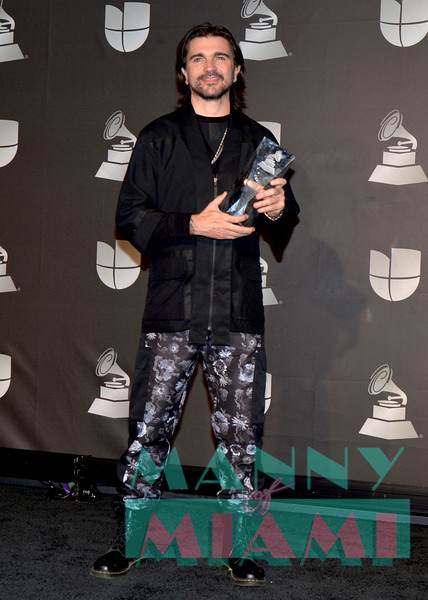 LAS VEGAS, NV - NOVEMBER 14:   Juanes at the Latin Grammys at the MGM Grand in Las Vegas, Nevada on November 14, 2019. (Photo by Manny Hernandez)
