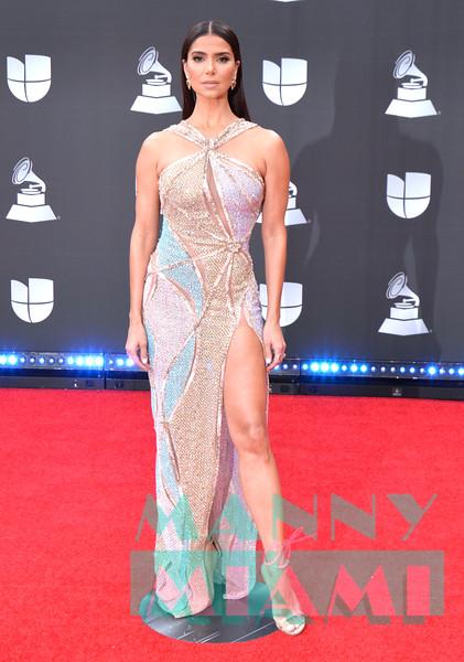 LAS VEGAS, NV - NOVEMBER 14:  Roselyn Sanchez at the Latin Grammys at the MGM Grand in Las Vegas, Nevada on November 14, 2019. (Photo by Manny Hernandez)