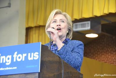 11-20-15 Hillary Clinton In Memphis