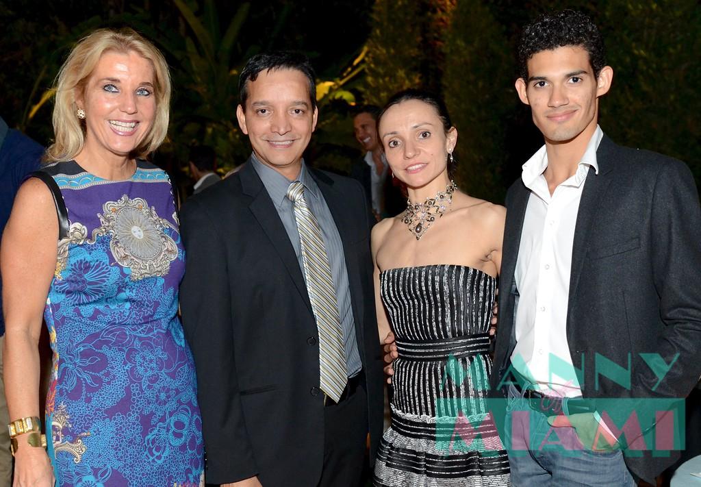 Tina Carlo, Wilman Gamero, Mary Carmen Catola, Renan Cordeiro