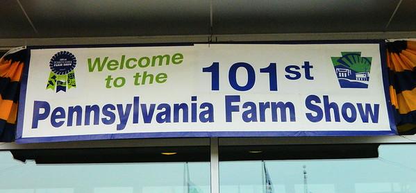 1/10/2017 Pennsylvania Farm Show, Harrisburg