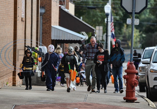 The city of Rusk celebrated Halloween with Scare on the Square hosted by the Rusk Chamber of Commerce on Thursday, November 1. (Jessica T. Payne/Tyler Morning Telegraph)