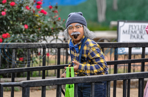 A young boy dressed as an old man for Halloween attends Scare on the Square in downtown Rusk. The annual event was hosted by the Rusk Chamber of Commerce and took place on Thursday, November 1. (Jessica T. Payne/Tyler Morning Telegraph)