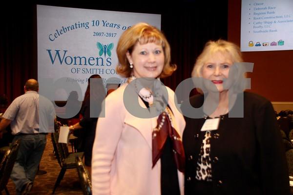 (L) Marty Wiggins and (R) Linda Richey