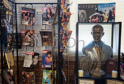 A reading collection is part of the Texas African American Museum, 3000 North Border Ave. in Tyler. The museum is a branch of the Empowerment Community Development Corporation.   (Sarah A. Miller/Tyler Morning Telegraph)