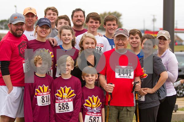11/26/15 Tyler Turkey Trot 5K & Kids' Race by John Murphy