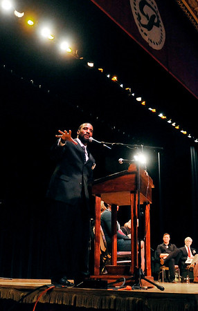 John P. Cleary | The Herald Bulletin<br /> 38th annual Anderson city-wide Dr. Martin Luther King, Jr. celebration.