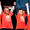 "John P. Cleary |  The Herald Bulletin<br /> Excel Learning Academy students perform ""I Have a Dream"" during Anderson's 37th annual Martin Luther King, Jr. celebration Monday. For a gallery of photos to view or purchase, visit<br /> photos.heraldbulletin.com."