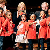 "John P. Cleary |  The Herald Bulletin<br /> Excel Learning Academy students perform ""I Have a Dream"" during Anderson's 37th annual Martin Luther King, Jr. celebration Monday."