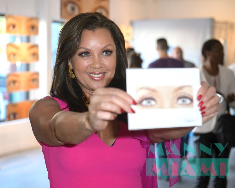 Vanessa Williams Clear Eyes in Wynwood