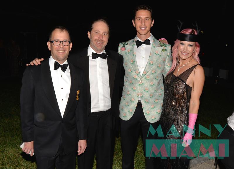 George Lindemann Jr., Adam Wolman, Josh Krens, Alexa Wolman
