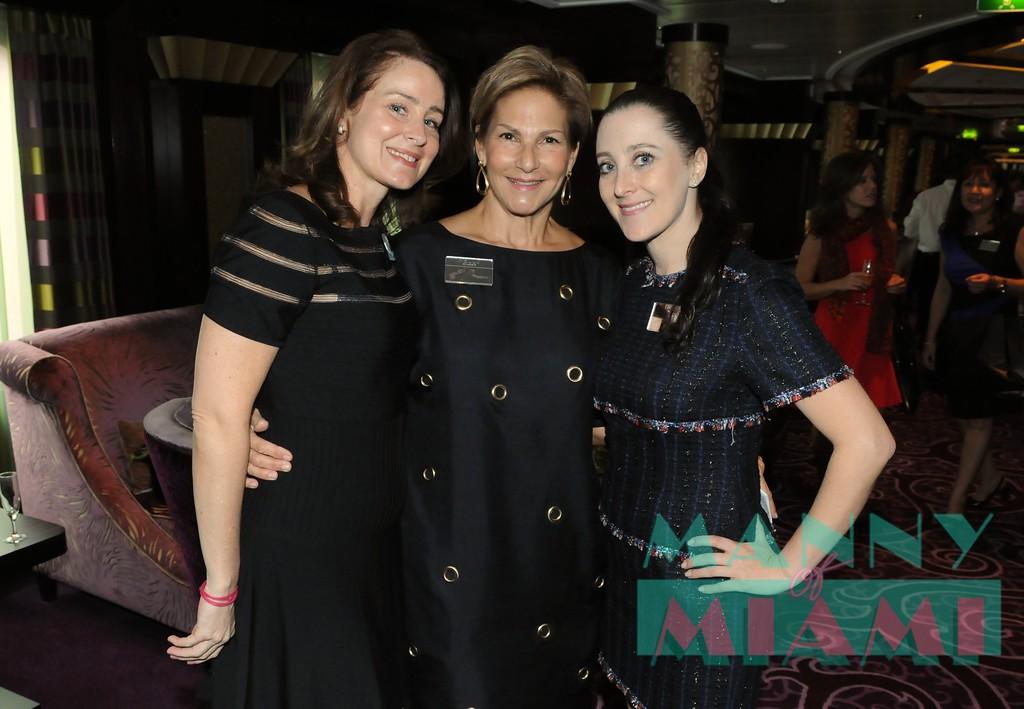 Mariangela Capuzzo, Joan Blackman, Susanne Birbragher