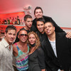 Front L-R: Mike Manning (Real World DC), Timur Tugberk, , Mary Amons (Real Housewives of DC), Will Thomas (Fox5News), Chris Wiggins (@RealWorldDCNewz)