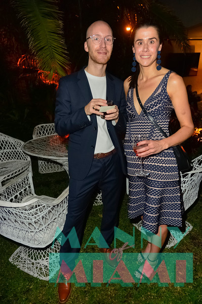 Cultured Magazine Pig Roast during Art Basel on December 5, 2017
