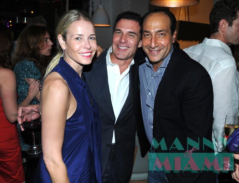 Chelsea Handler, Andre Balazs, Alberto Mugrabi