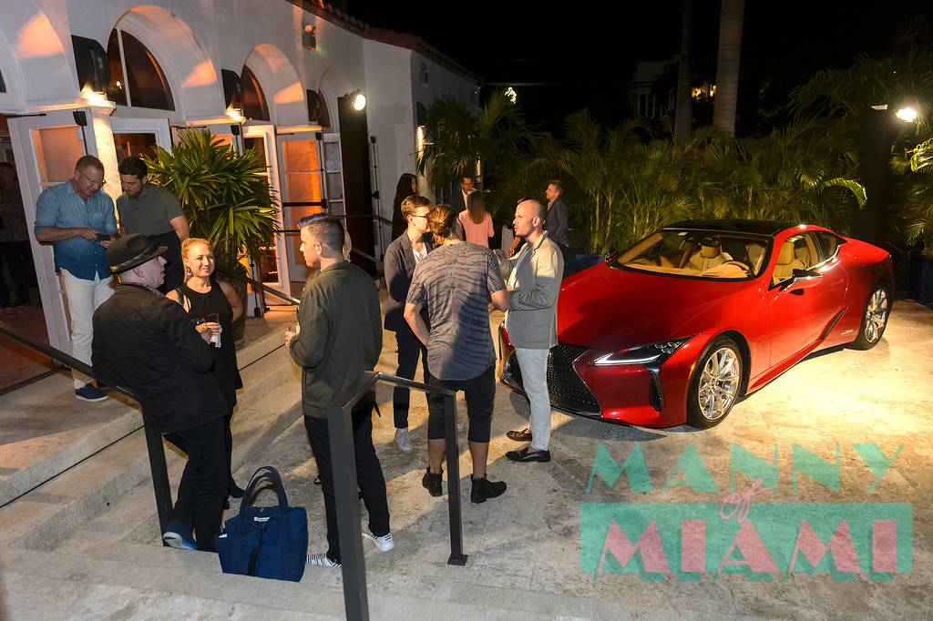 Lexus During Art Basel at the Miami Beach Women's Club