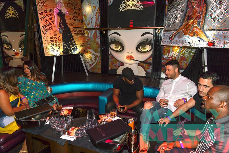 Fight For Love at Komodo Lounge during Art Basel on December 7, 2017