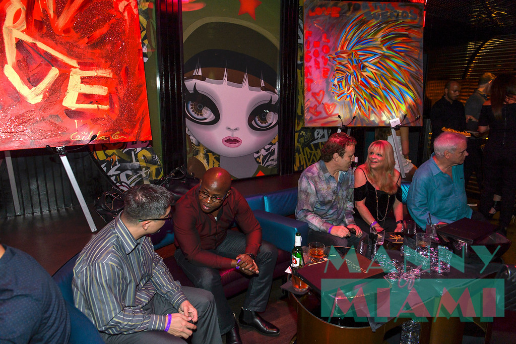 Fight For Love at Komodo Lounge during Art Basel on December 7, 2017