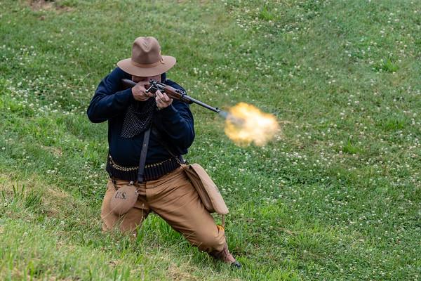 120th Anniversary of the Spanish-American War at Fort Mott