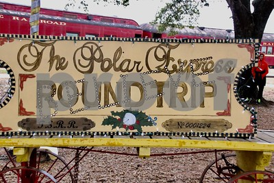 12/10/16 Texas State Railroad Polar Express by Jim Bauer