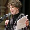 John P. Cleary | The Herald Bulletin<br /> 5th District Representative Susan Brooks gives Congressional greeting during the Anderson city-wide celebration of Dr. Martin Luther King Jr.