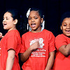 John P. Cleary | The Herald Bulletin<br /> Students from the Excel Learning Academy perform  during the Anderson city-wide celebration of Dr. Martin Luther King Jr.