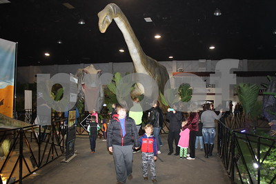 12/18/16 Oil Palace Hosts Jurassic Quest by David Thomas