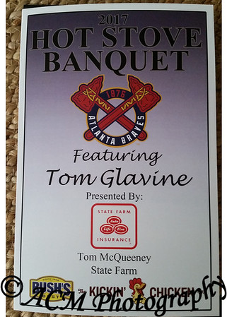 13th Annual Hot Stove Banquet featuring Tom Glavine