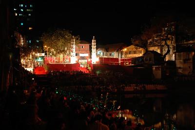 Thirteenth Banganga Festival (Indian music), Mumbai, MH, India by MTDC (Maharashtra Tourism) and Indian Heritage Soceity. Feb'2005.