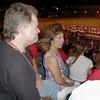 Mike and Eva at football game