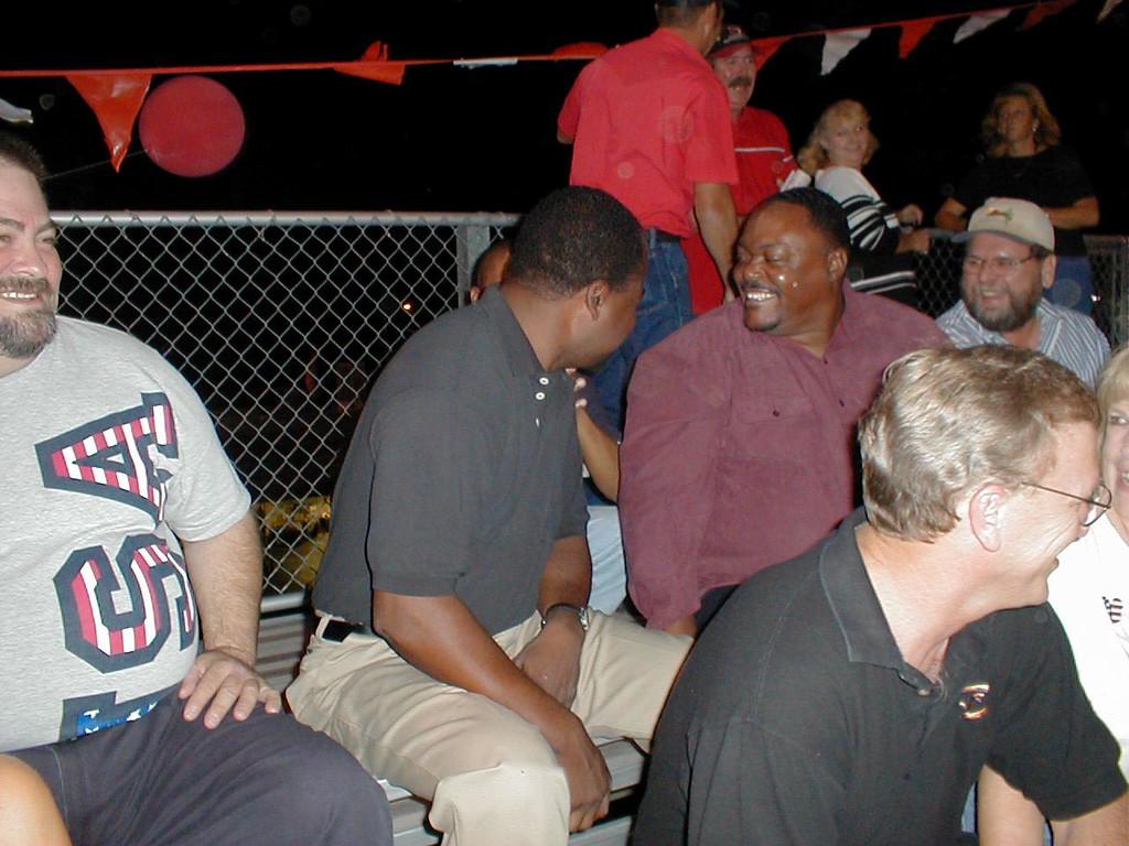 Don Washington at Football game