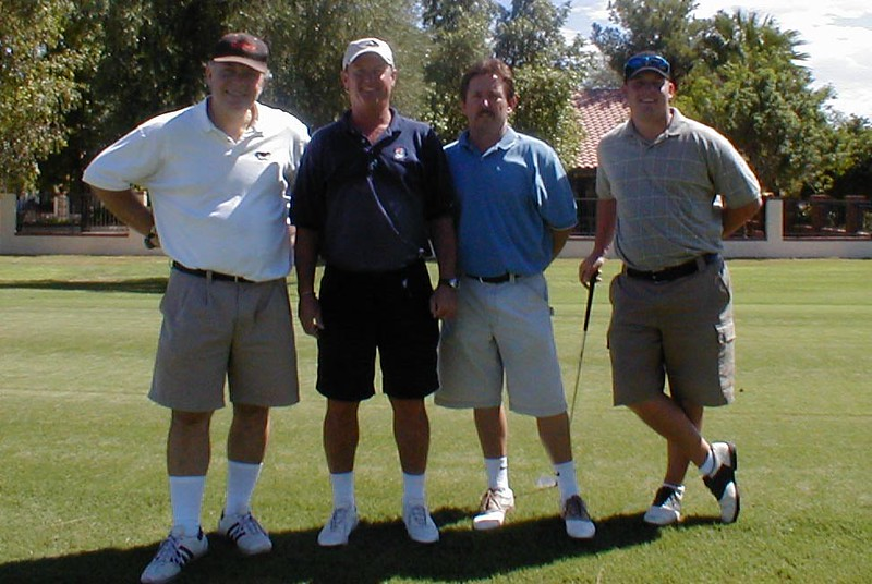Golf-Doug, Jeff, Byron, Chris
