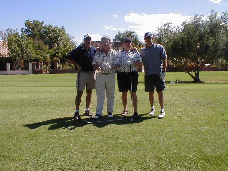 Golf-Jerry, George, Dave, Gary 9-27-02